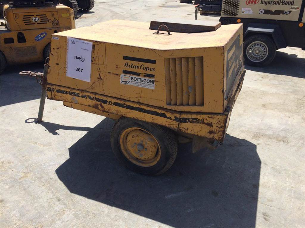 Atlas Copco XAS20, Other, Construction Equipment