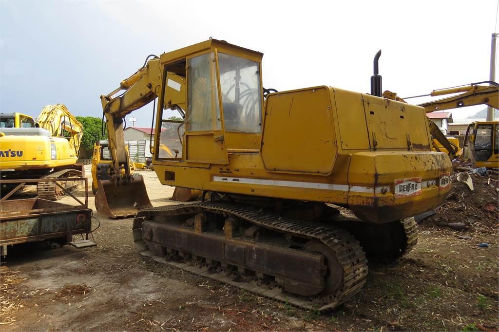 Benfra 8C, Crawler Excavators, Construction Equipment