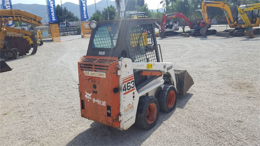 Bobcat 463, Skid Steer Loaders, Construction Equipment