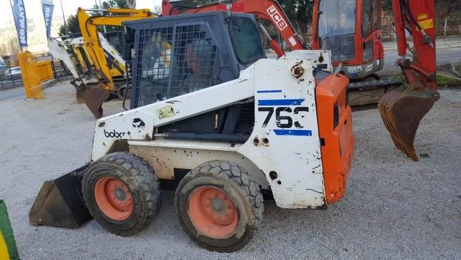 Bobcat 763, Skid Steer Loaders, Construction Equipment