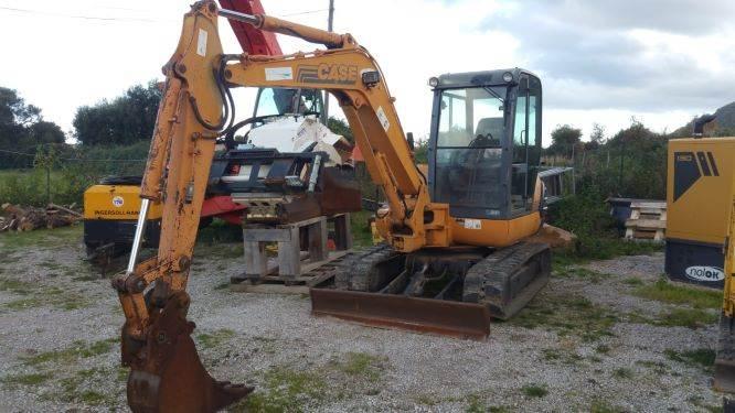 CASE CK50, Mini excavators, Construction Equipment