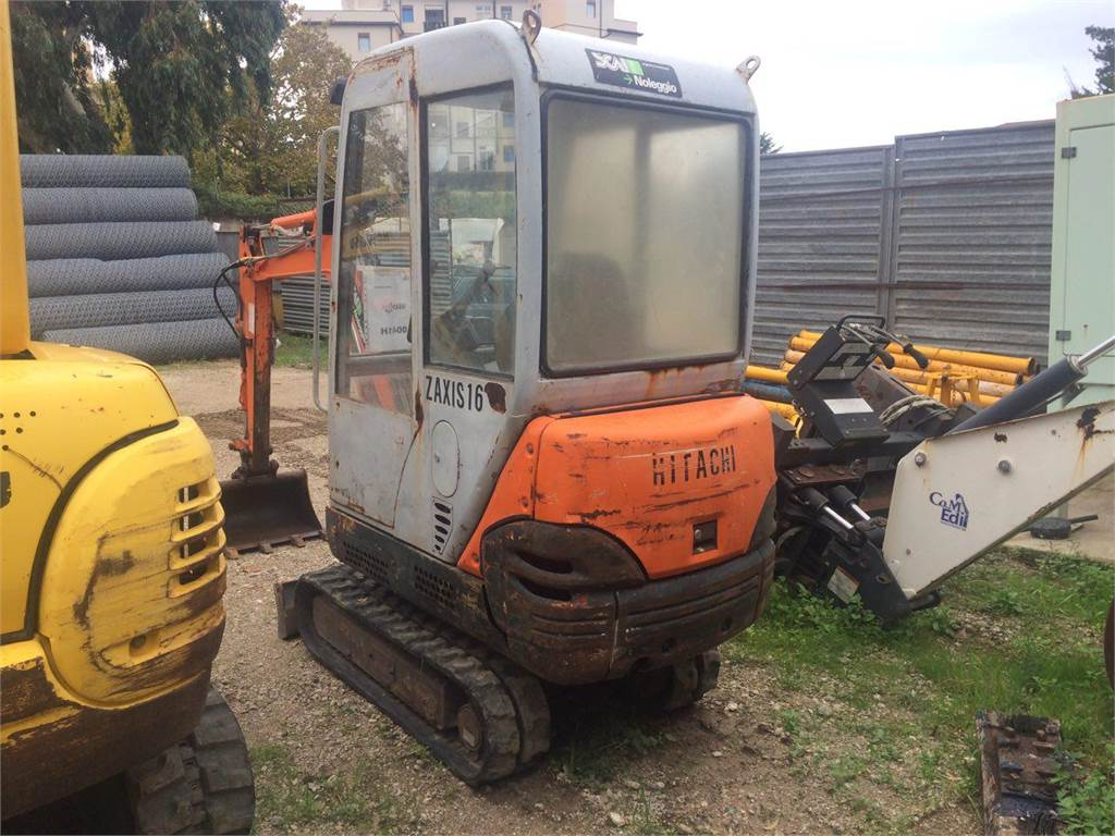 Hitachi ZAXIS 16, Mini excavators, Construction Equipment