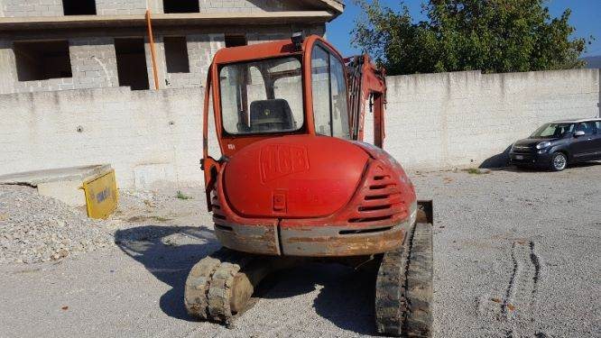 JCB 8050, Mini excavators, Construction Equipment