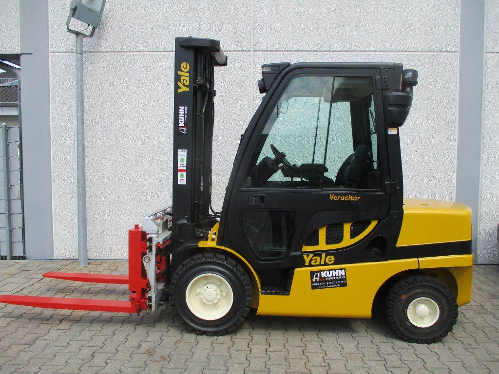 Yale GDP35VX, Diesel counterbalance Forklifts, Material Handling