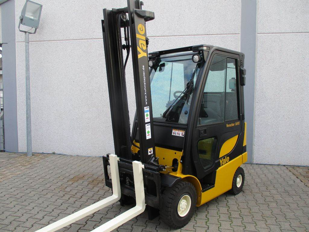 Yale GLP16VX, LPG counterbalance Forklifts, Material Handling