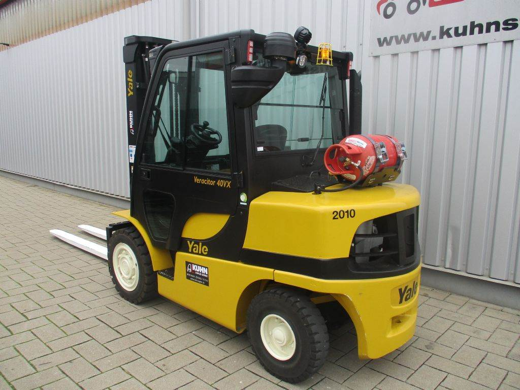 Yale GLP40VX, LPG counterbalance Forklifts, Material Handling