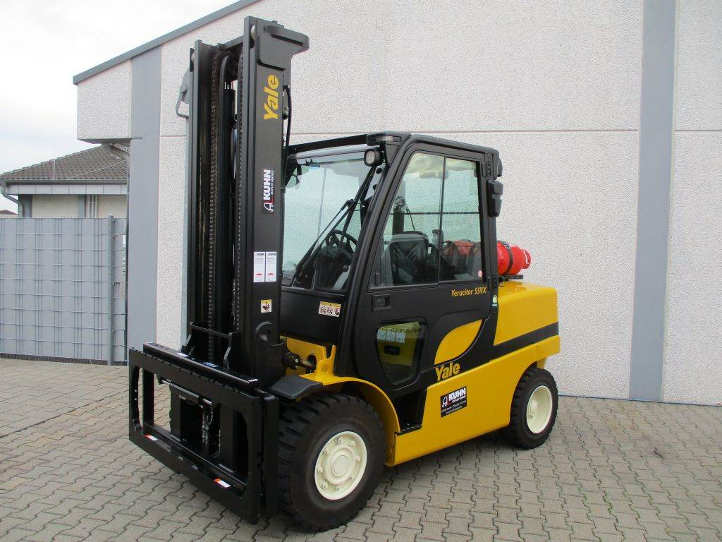 Yale GLP55VX, LPG counterbalance Forklifts, Material Handling