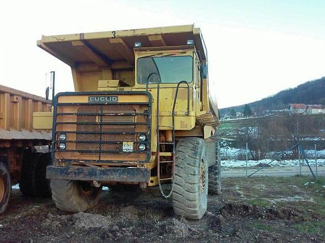 Used Euclid R50 Rigid Dump Trucks Year 1991 For Sale