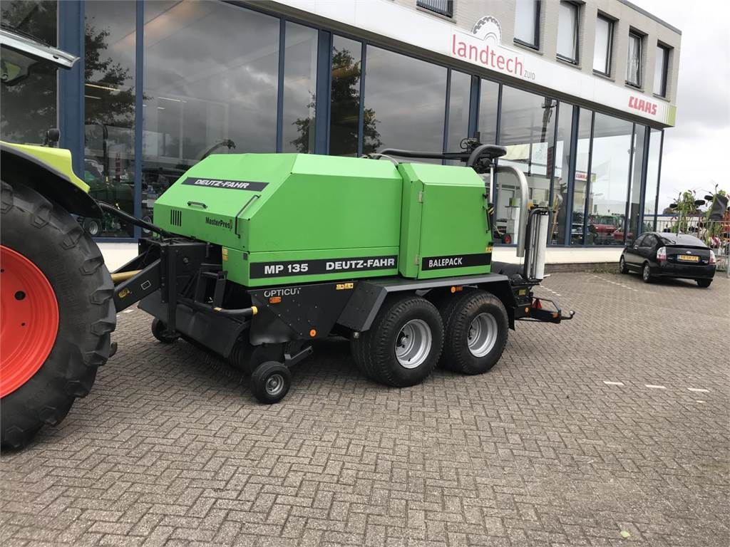 Deutz-Fahr MP 135 opticut, Round Balers, Agriculture