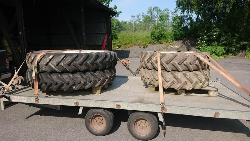 Alliance 12,4R32, 12,4R46, Däck, hjul och fälgar, Lantbruk