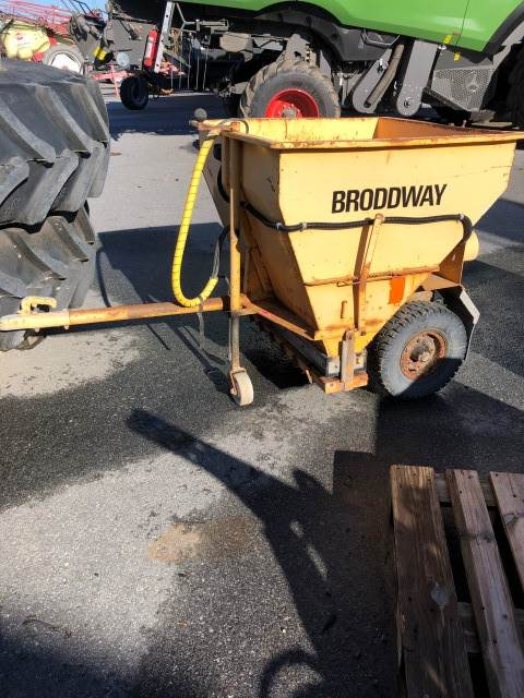 Broddway 600L, Sand- och saltspridare, Lantbruk