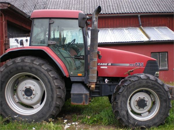 Case IH MX 135, Traktorer, Lantbruk