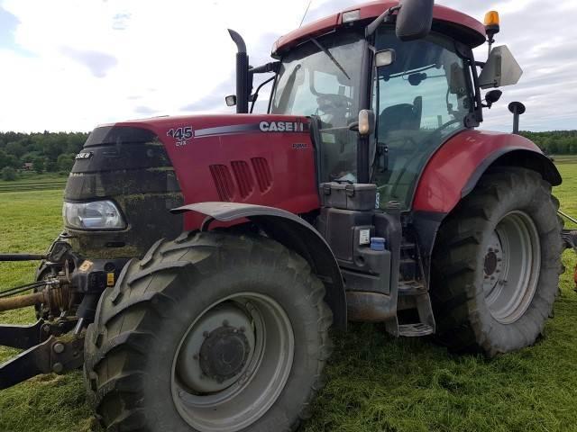 Case IH PUMA 145 CVX, Traktorer, Lantbruk