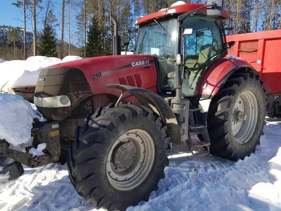 Case IH PUMA 210-4 F PTO, Traktorer, Lantbruk