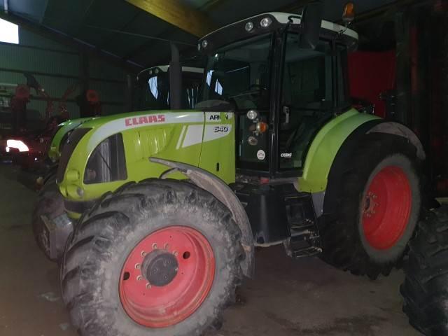 CLAAS ARION 640 CEBIS, Traktorer, Lantbruk