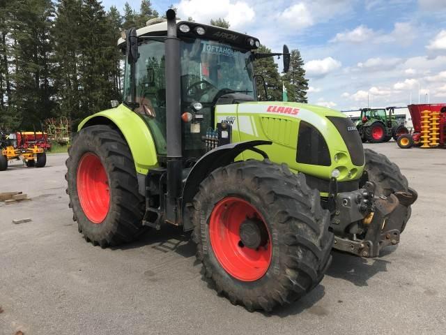 CLAAS ARION 640 CEBIS + FRONTLYFT, Traktorer, Lantbruk