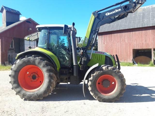 CLAAS ARION 640 CIS, Traktorer, Lantbruk
