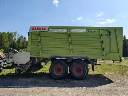 CLAAS CARGOS 8400, Hackvagn / Självlastarvagn, Lantbruk