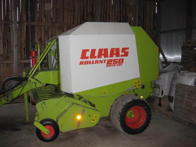 CLAAS ROLLANT 250 RC N 2,10 M, Rundbalspressar, Lantbruk