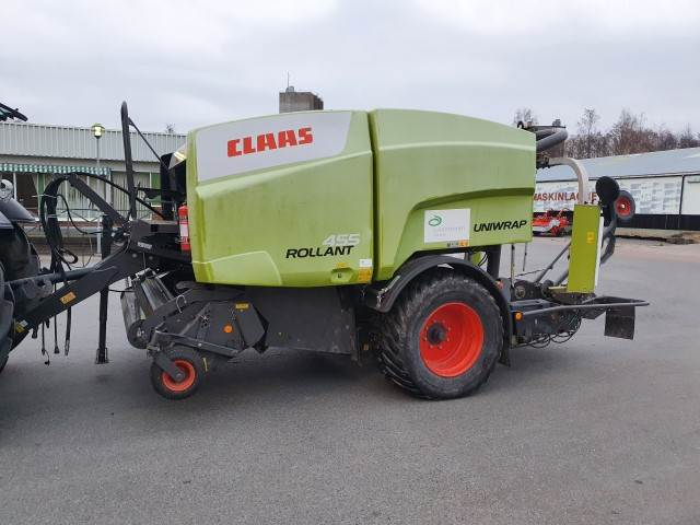 CLAAS ROLLANT 455 RC UNIWRAP, Rundbalspressar, Lantbruk