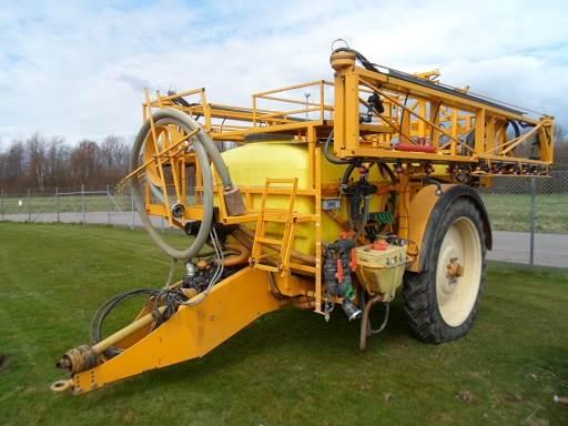 Dubex 3300 LIT, Dragna sprutor, Lantbruk