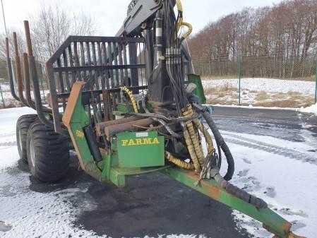 Farma 12T 4WD, Skogsvagnar, Skogsmaskiner