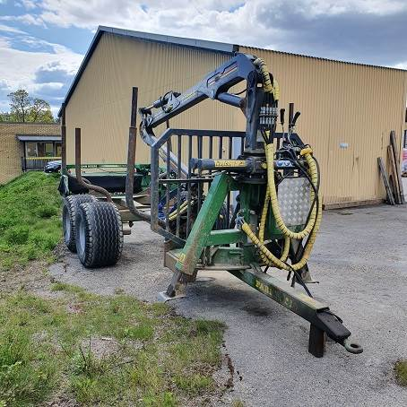 Farma T 10/C6,3D, Skogsvagnar, Skogsmaskiner