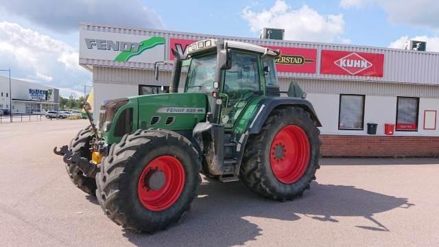 Fendt 800 820 VARIO + F + PTO, Traktorer, Lantbruk