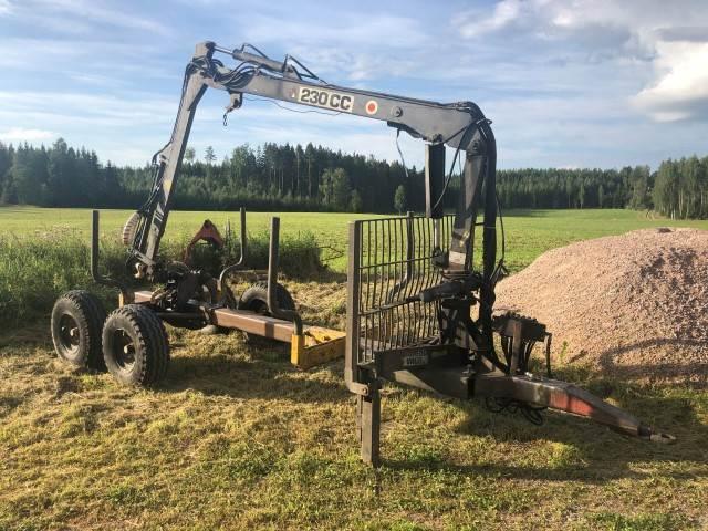 FMV 230CC, Skogsvagnar, Skogsmaskiner