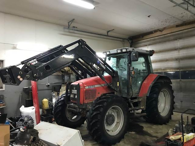 Massey Ferguson 6270, Traktorer, Lantbruk