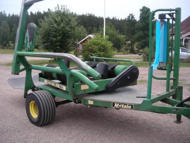 McHale 991 B, Inplastare, Lantbruk