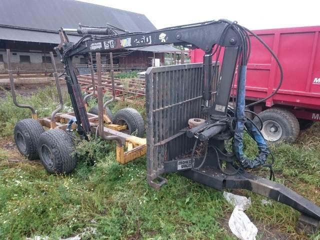 Moheda 9 TON + FMW 250, Skogsvagnar, Skogsmaskiner