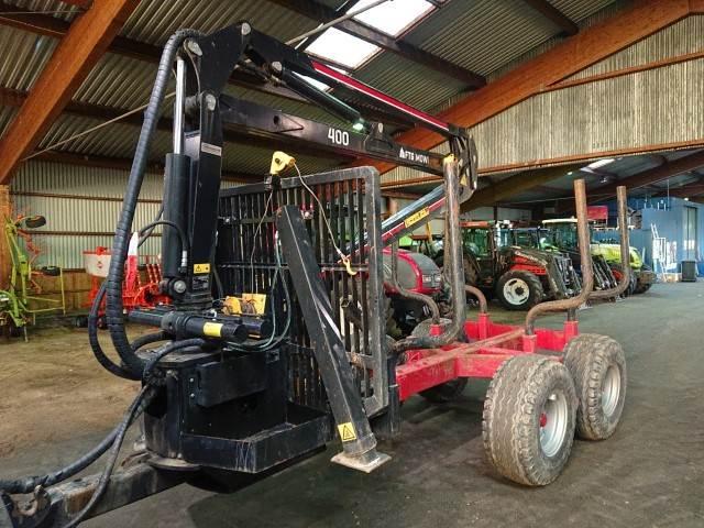 Mowi 1250 + 400 KRAN, Skogsvagnar, Skogsmaskiner