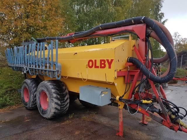 Olby 15M³KRAN+RAMP, Flytgödselspridare, Lantbruk