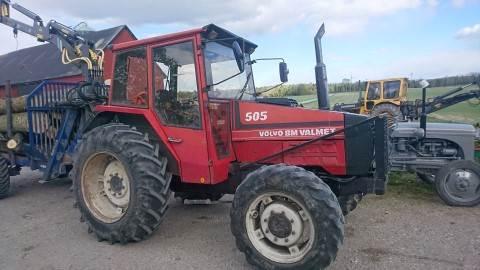 Valmet 505, Traktorer, Lantbruk