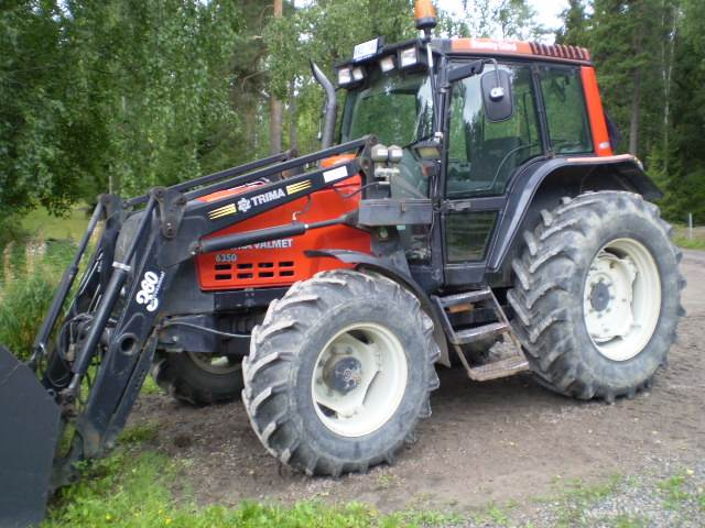 Valtra 6350-4+L+TWIN TRACK, Traktorer, Lantbruk