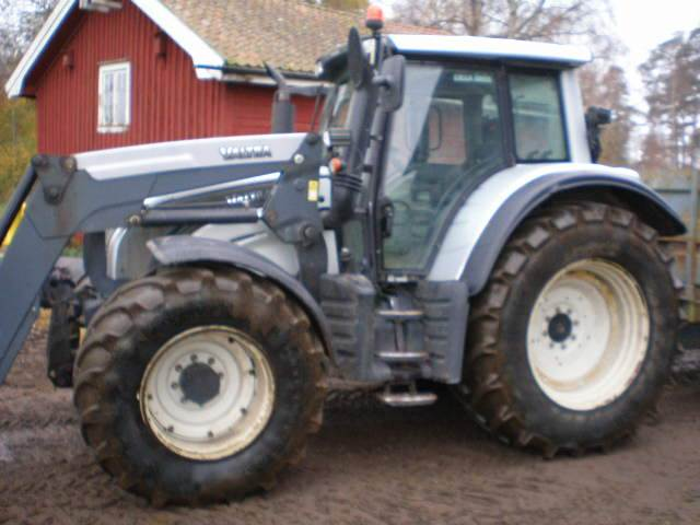 Valtra N 142 DIRECT+L+F+PTO, Traktorer, Lantbruk