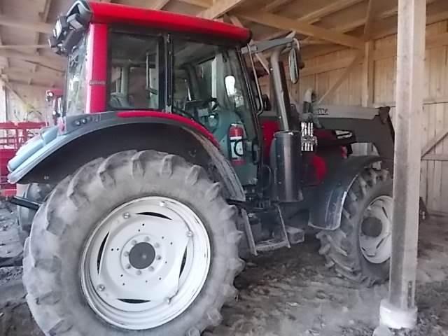 Valtra N N123 HiTech SCR, Traktorer, Lantbruk