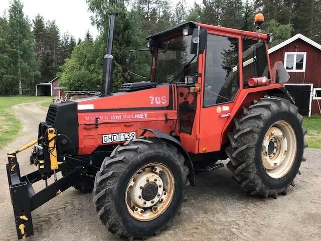 Valtra Valmet 705, Traktorer, Lantbruk