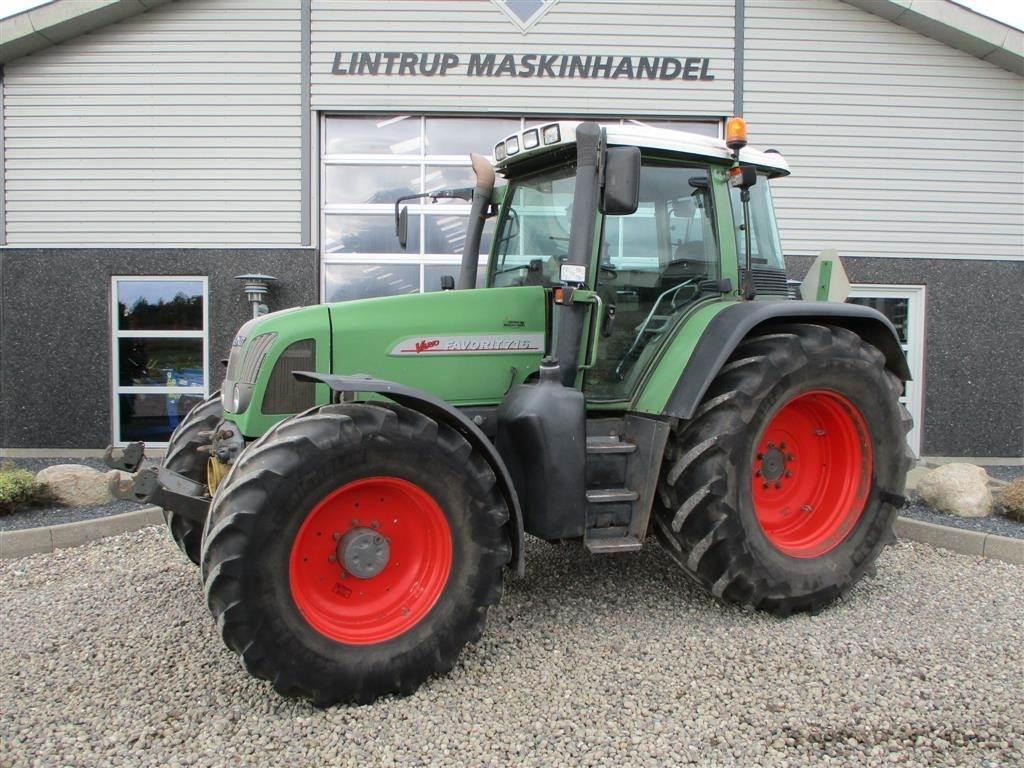 Fendt 716 VARIO Med frontlift og frontPTO, Traktorer, Landbrug