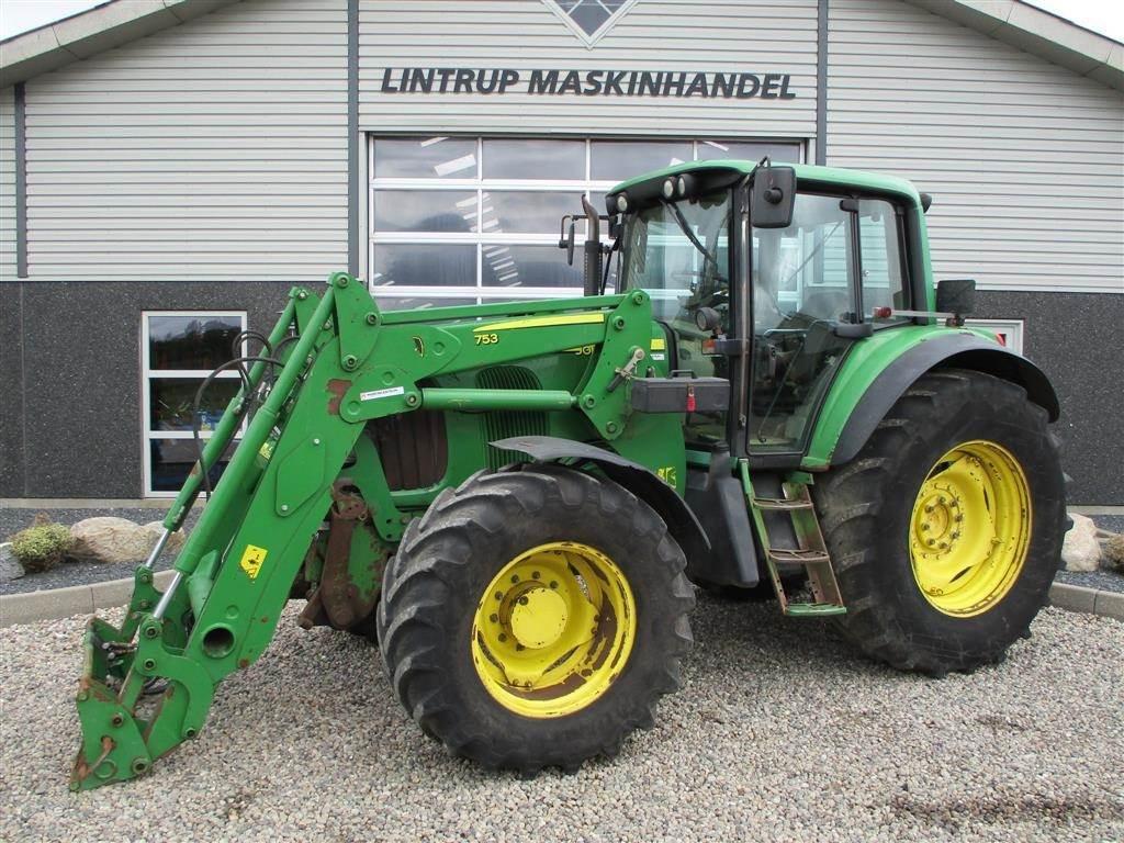 John Deere 6820 TLS Autopower med nyere frontlæsser, Traktorer, Landbrug