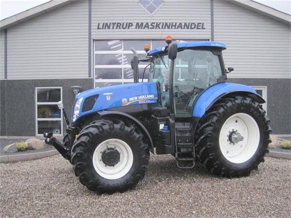 New Holland T7.270 AC DK gods traktor, GPS klar