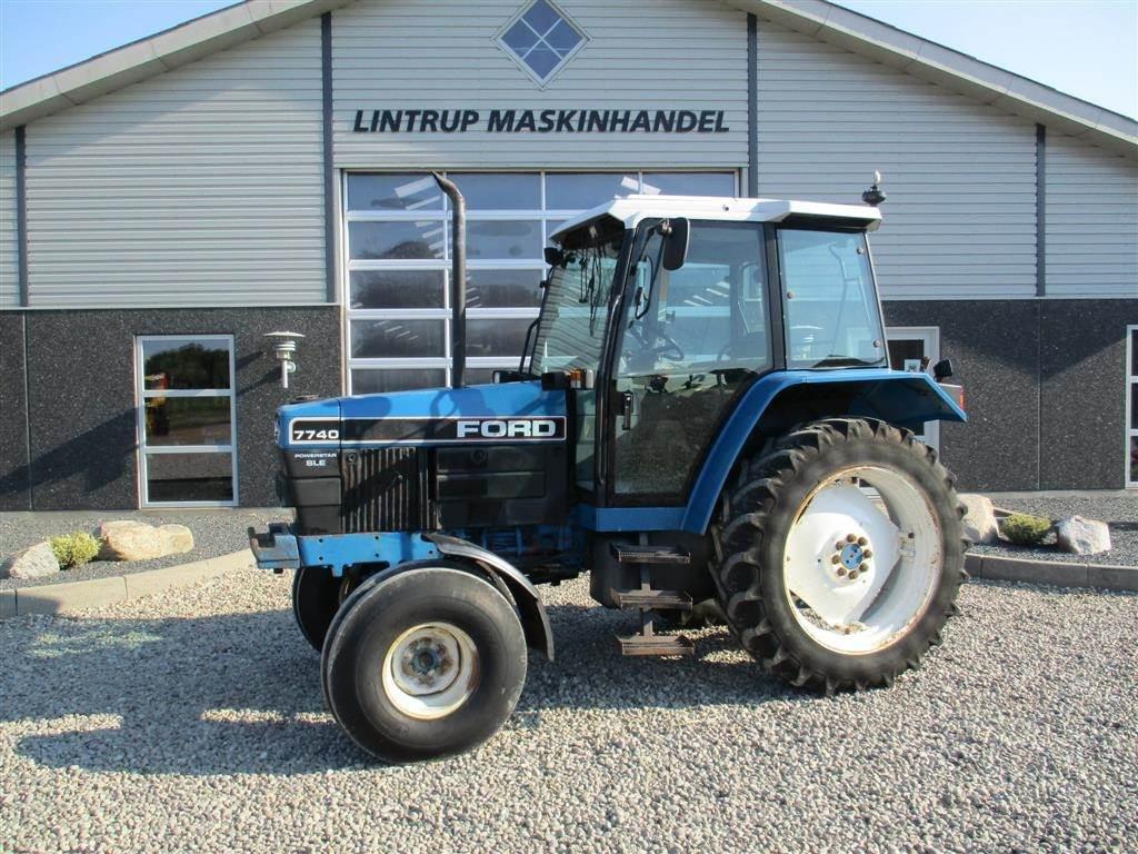 New Holland 7740 SLE handy traktor