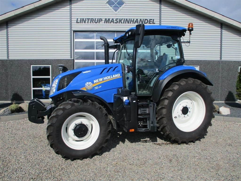 New Holland T6.145 AC AutoCommand / Vario, Traktorer, Landbrug