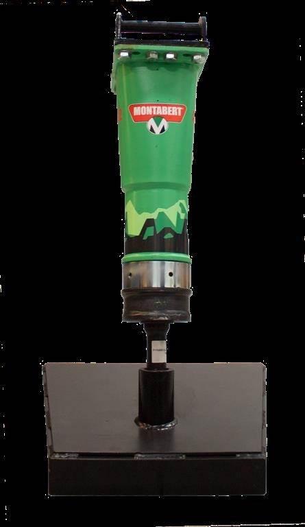 Montabert SC12 - 115 kg hydraulik hammer, Hydraulik / Trykluft hammere, Entreprenør