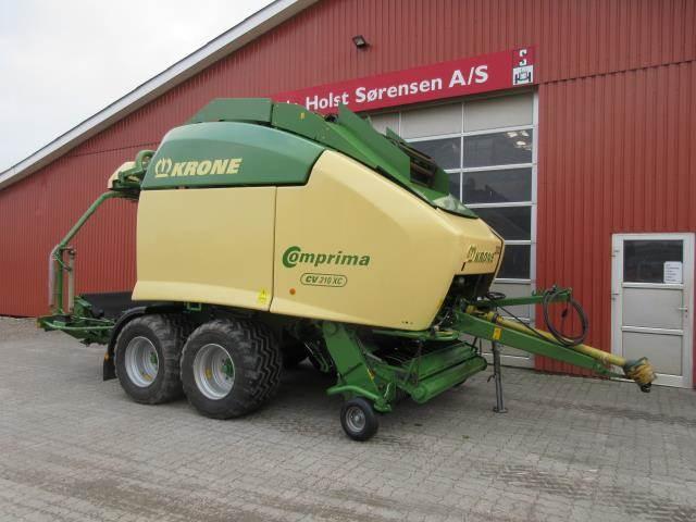 Krone COMPRIMA CV 210XC, Rundballe-pressere, Landbrug