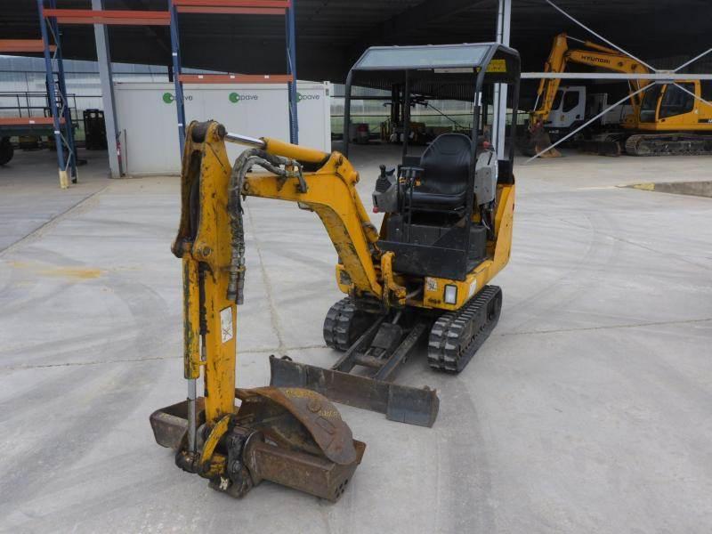 Bobcat E 14, Mini digger, Construction Equipment
