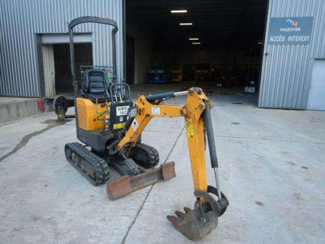 Bobcat E08, Mini digger, Construction Equipment