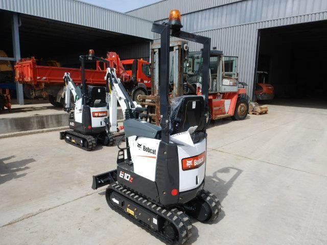 Bobcat E10 Z, Mini digger, Construction Equipment