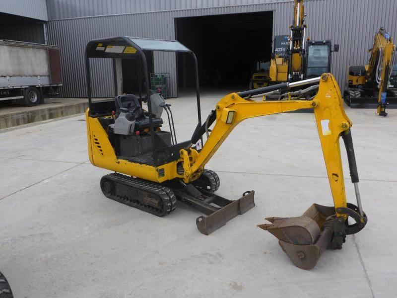 Bobcat E14, Mini digger, Construction Equipment